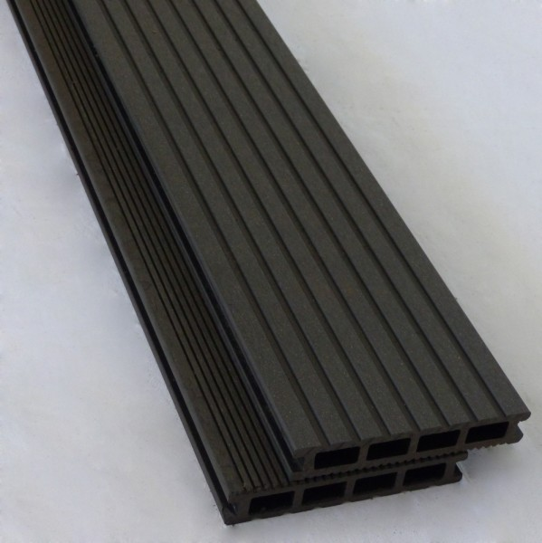 BPC / WPC Allround Terrassendiele Ebony