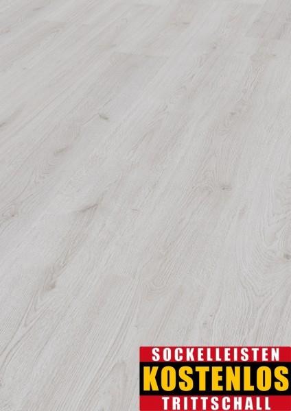 Kronotex Laminat Basic D3201 Eiche Weiß