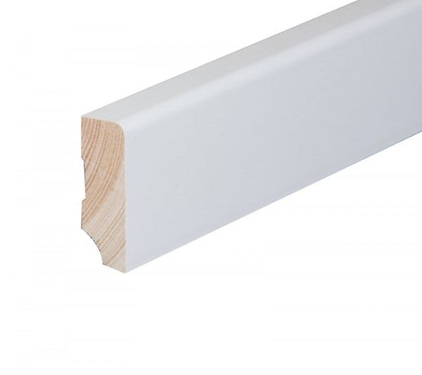 Modern Nadelholz RAL 9010 - weiß lackiert