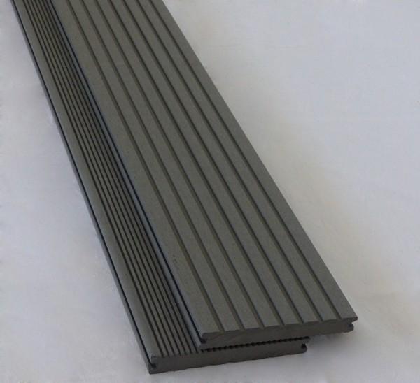 BPC / WPC Allround Kompakt Terrassendiele Silver Cedar